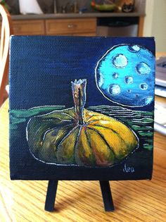Pumpkin Moon by AsTheCroweFlies on Etsy, $80.00