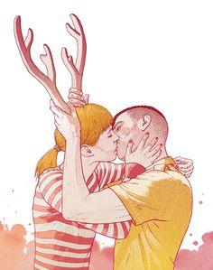 Illustrations 2013 by Bartosz Kosowski, via Behance