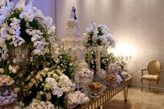 Celso Junior - Mesa de doces - Doce - Inesquecível Casamento - Bolo - Cake - Decoração branca - Decoração - Wedding Decor - White Wedding - Wedding - Casamento