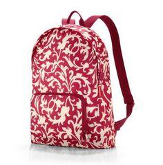 Mochila Plegable Roja Estampado Blanco Mini Maxi de Reisenthel http://www.tutunca.es/mochila-plegable-roja-estampado-blanco-mini-maxi-de-reisenthel