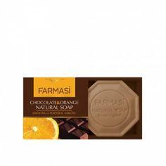 FARMASI NATURAL Szappan Chocolate & Orange Chocolate Orange, Jelsa, White Out Tape, Soap, Natural, Bar Soap, Nature, Elsa, Soaps