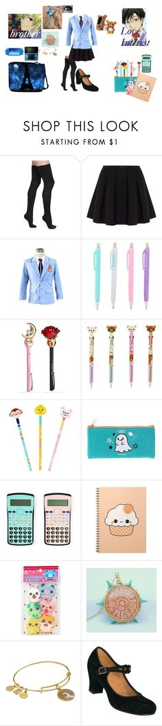 """""""Ouran High School Host Club Oc"""" by bec1995 ❤ liked on Polyvore featuring Bootights, Polo Ralph Lauren, Usagi, Alex and Ani and Nintendo"""