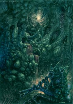 Azathoth (Outer God of Primal Chaos). The Daemon Sultan: Azathoth is the ruler of the Outer Gods, and has existed since the universe began. He is a monstrous nuclear chaos, who dwells outside normal time and space. He is blind, idiotic, and indifferent, worshiped only by the insane. (However, his servant Nyarlathotep has a great number of cults. Created by H.P. Lovecraft.