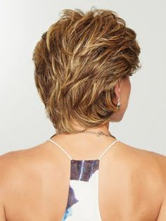 Wear this heat friendly synthetic wig for easy styling! Gratitude by Eva Gabor Wigs is a comfortable wig choice for women with hair loss. Short Layered Haircuts, Short Hairstyles For Women, Best Short Haircuts, Medium Layered Hairstyles, Short Layered Curly Hair, Shaggy Short Hair, Short Spiky Hairstyles, Wavy Pixie, Teenage Hairstyles