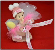 """4"""" Figura de Bebé en Caballito de Poli Resina* Baby shower Recuerdo * Fav_141 - Centros de Mesas y Recuerdos - E & C The Twins"""