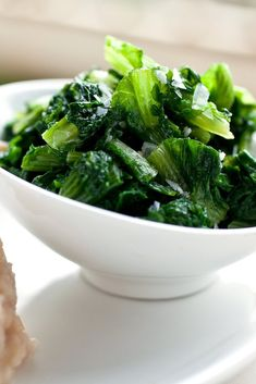 NYT Cooking: This is inspired by a classic dish from Apulia, the heel of the… Bitter Lettuce, Escarole Recipes, Lettuce Recipes, Protein In Beans, Bitter Greens, Fava Beans, White Beans, Italian Recipes, Side Dishes