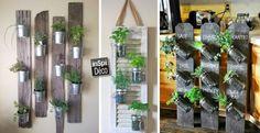 Faire un coin plantes aromatiques dans la maison! 17 idées créatives…