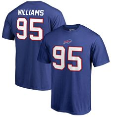 Kyle Williams Buffalo Bills NFL Pro Line by Fanatics Branded Authentic  Stack Name   Number T-Shirt – Royal d7620da4c