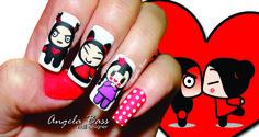 uñas pucca/ pucca nails
