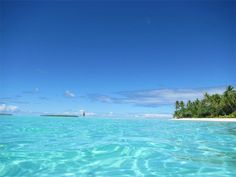 Gorgeous ocean in the South Pacific - sail the world with barque PICTON CASTLE #pictoncastle #southpacific #pacificislands