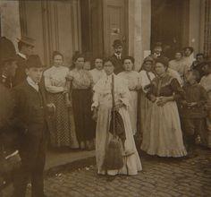 Mujeres defendiendo el conventillo