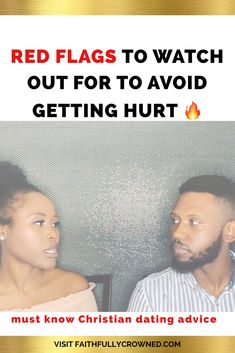 Red Flags in Dating/Christian Dating: Avoid getting another heartbreak or hurting your future by entering into marriage with the wrong person by paying atten. Christian Dating Advice, Christian Singles, Christian Relationships, Christian Faith, Godly Relationship Advice, Faith Scripture, Bible Teachings, Wrong Person, Red Flag