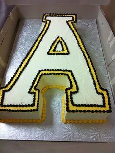 Appalachian State Cake.  @blackvelvetp