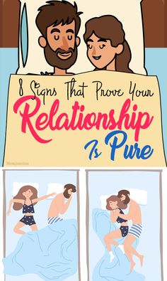 8 Crystal Clear Signs That Prove Your Relationship Is Pure #relation #relationship #love
