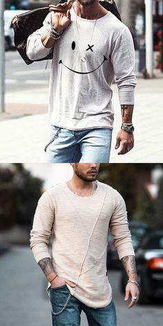 Men long sleeves shirts for summer or fall, printed and plus size design, easy to online shipping, free shipping on an order $59. #men #shirts #fashion #summer #tops Online Shipping, Free Shipping, Men Shirts, Summer Tops, Hoodies, Sweatshirts, Long Sleeve Shirts, Shop Now, Plus Size