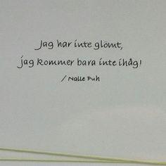 Älskade Nalle Puh