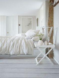 Testata da letto in legno L 160 cm Baltic   Maisons du Monde ...