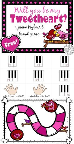 Awe Inspiring Keyboard Piano Made Easy Ideas. Exceptional Keyboard Piano Made Easy Ideas. Piano Games, Piano Music, Piano Teaching, Teaching Kids, Learning Piano, Piano Lessons, Music Lessons, Valentine Music, Valentine Gifts
