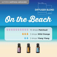 I'm loving the beach in Australia this week, try this blend of essential oils to recreate the mood! Patchouli, Wild Orange and one of my favorites Ylang Ylang. www.hayleyhobson.com