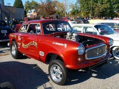 More vintage cars, hot rods, and kustoms Vintage Cars, Antique Cars, Cool Car Pictures, Classic Race Cars, Classic Hot Rod, American Motors, Drag Cars, Car And Driver, Car Humor
