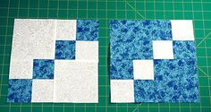 Make Double Four Patch Blocks that Are Just a Bit Different from the Norm: Make Double Four Patch Quilt Blocks in Two Colorways