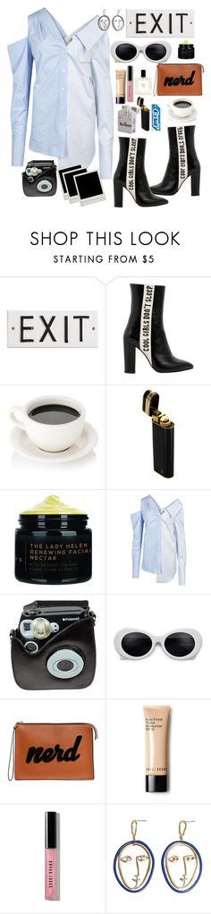 """""""Fashion week"""" by streetthreads ❤ liked on Polyvore featuring Havva, Cartier, Monse, Polaroid, Les Petits Joueurs, Bobbi Brown Cosmetics and MANGO"""