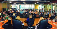 A center of the office collaboration of #InsanelySmartIdeas!  #MondayMeeting #AgencyLife #Irvine #California #OrangeCounty #Marketing #Advertising #Digital #SocialMedia #Office #BrainStorm
