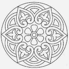 mandala cute pattern for a stencil or colouring in? Mandala Art, Mandala Painting, Mandala Pattern, Mosaic Patterns, Dot Painting, Embroidery Patterns, Flower Mandala, Mandala Drawing, Quilt Pattern
