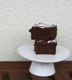 Brownies mit roter Beete