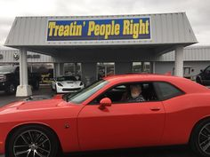 Congratulations Ron Nugent on the purchase of your 2017 Dodge Challenger. We appreciate your business.