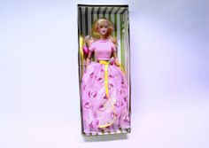 Strawberry Sorbet Barbie Doll Avon Exclusive Special Edition with box #Mattel