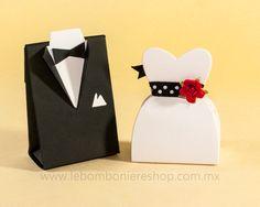 Cajita de dulces para bodas, wedding favors  #boda, #novias, #recuerdos