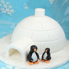Iglo met Pinguïns