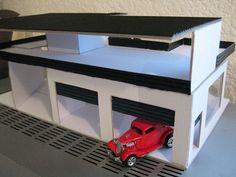 diy hot wheel garages | photo