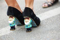 Snow white shoes!