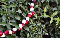 LifeCreated Blog: Cranberry & Marshmallow Garland