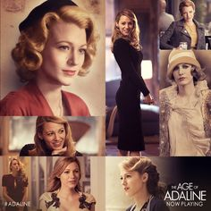 The years may have changed her style, but #Adaline is timeless. Discover @Blake Lively through the ages this weekend! Get tix: lions.gt/adalinetix