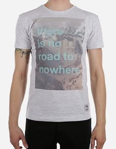 iriedaily - Road Hill Tee white mel