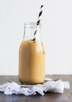 Iced cold-brew coffee