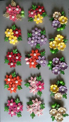 Paper.quilling flowers