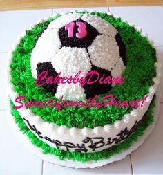 Soccer cakes are Yummy