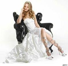 Un abito da #sposa audace, attraente, sorprendente!