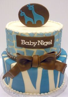 Safari Baby Shower Cake from The Cupcake Shoppe in Raleigh Safari Baby Shower Cake, Baby Shower Cakes, Cupcake Cakes, Cupcakes, Baptisms, Seasonal Food, Food Decoration, Kids Corner, Girl Cakes