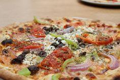 Brunchy Risto Pizza Pasta Italian taste Athens Restaurant Greece Smartpark Food Greek Pizza Vegetable Pizza, Greek, Pasta, Vegetables, Food, Pizza, Essen, Vegetable Recipes, Meals