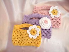 Easter Purse for your Little One by ThisChild on Etsy, $10.99    So cute! I won this from DeAnna and can't wait to order hats and booties for shower gifts as needed:)