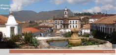Localizada na cidade de Ouro Preto, a Praça de Tiradentes guarda a beleza arquitetônica da história brasileira. #Trip #colors