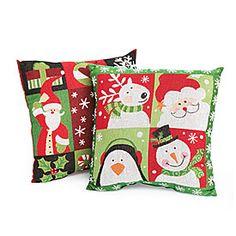 Large Christmas Tapestry Throw Pillows at Big Lots. I love pillows. #BigLots