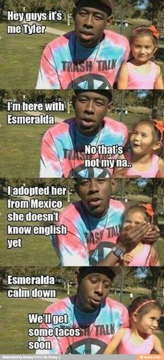 Tyler the creator funny quote Odd future ofwgkta (Hip Problems Funny)