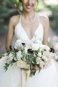 Stylish Brooklyn boathouse wedding: http://www.stylemepretty.com/new-york-weddings/new-york-city/brooklyn/2015/10/08/stylish-brooklyn-wedding-at-the-prospect-boathouse/ | Photography: Cly By Matthew -  http://www.clybymatthew.com/