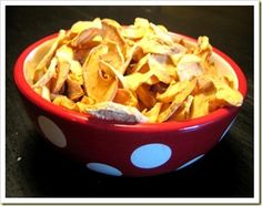 Oven Dried Apples, will make in my nuwave oven :)